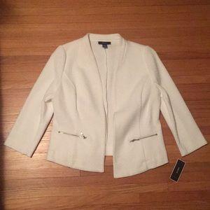 NWT white jacket